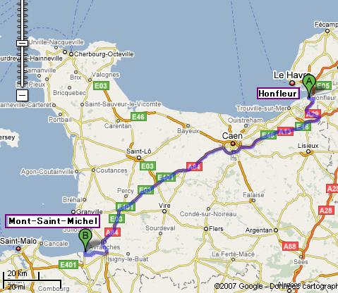 0001_route_map_of_honfleur_to_mont_